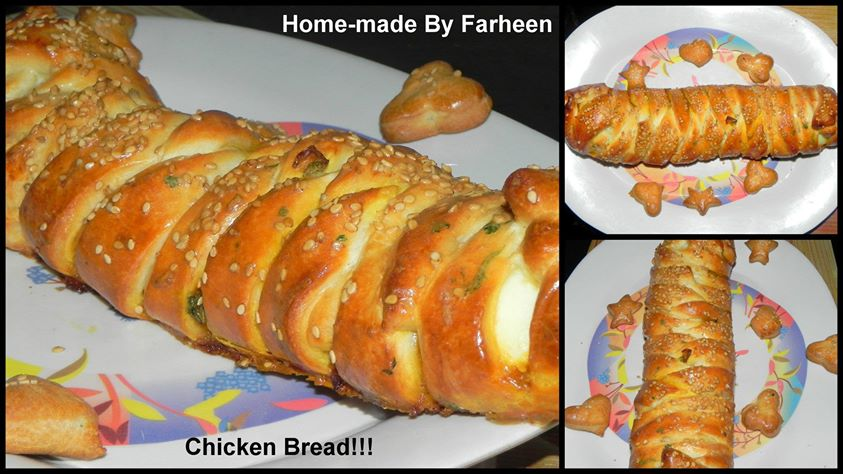Chicken bread!!