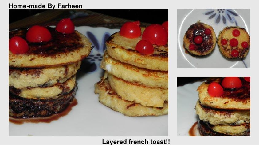Layered French Toast