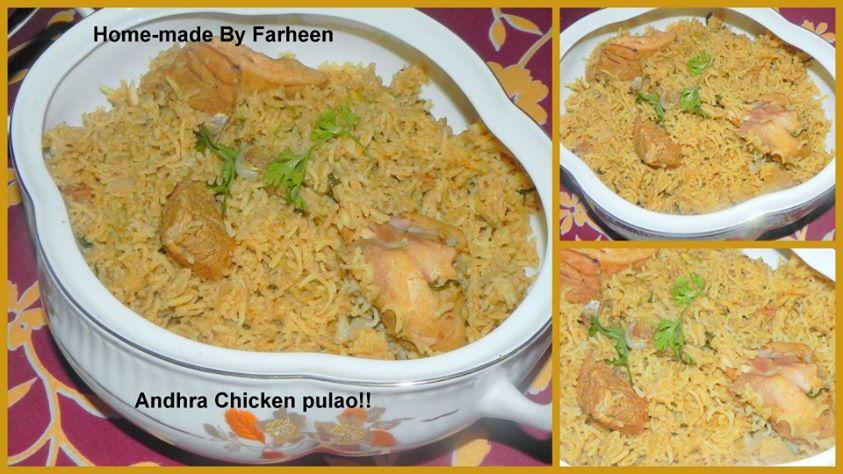 Chicken pulau/pilaf
