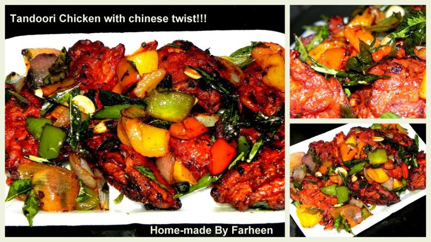 Tandoori Chicken with Chiinese Twist