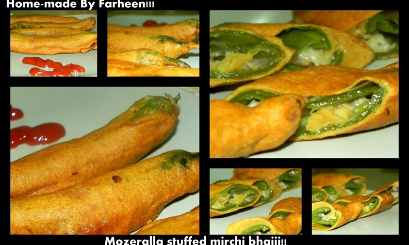 Mozeralla stuffed Mirchis